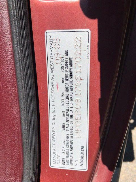 plaque-Porsche 911 Carrera